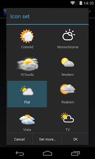 Chronus: Flat Weather Icons screenshot 1
