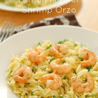 Lemon Pepper Shrimp Orzo Recipes