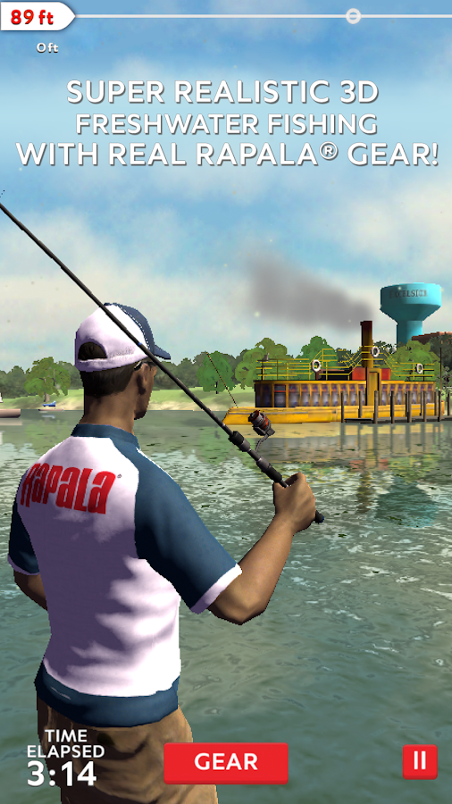 Rapala Fishing - Daily Catch Screenshot 1