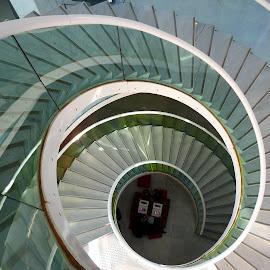 scale a spirale  by Patrizia Emiliani - Buildings & Architecture Other Interior ( .spirale, scale,  )