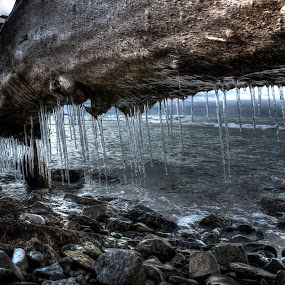 forgotten  by David Vanveen - Artistic Objects Other Objects ( hdr, ice, hd, storm, rocks )