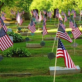 Remembering our Veterans by Jim Hoover - City,  Street & Park  Cemeteries (  )