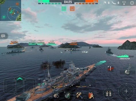 World Of Warships Blitz APK screenshot thumbnail 5
