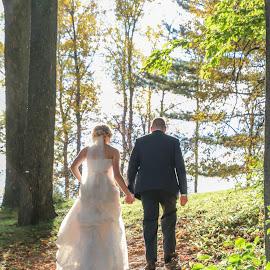 by Kathy Suttles - Wedding Bride & Groom