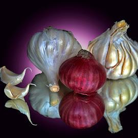Garlic-onion by Asif Bora - Food & Drink Ingredients