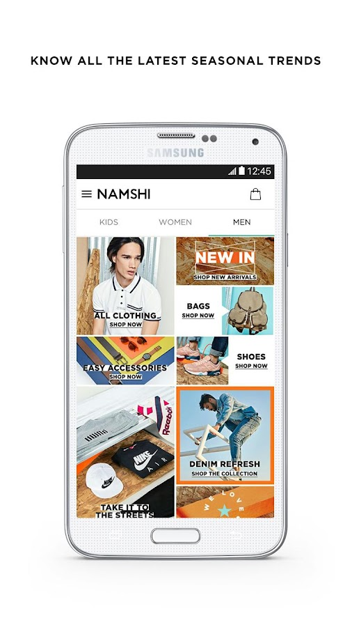 Namshi Online Fashion Shopping Screenshot 1