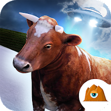 Cow Run! - UFO Farm FREE