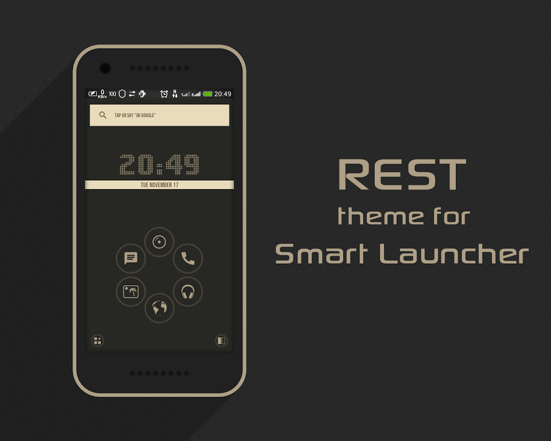 Rest - Icon Pack Screenshot 8