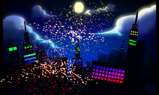 Finger Fireworks - screenshot