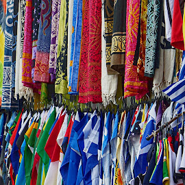 Greek fare by Costa Philippou - Artistic Objects Clothing & Accessories ( flags, clothing, greece, athens, accessories )