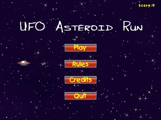UFO-Asteroid-Run 12
