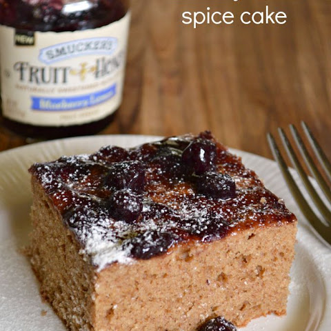 Blueberry Lemon Spice Cake