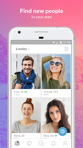 LOVOO - Free Dating Chat Android App Screenshot