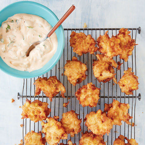 Corn and Crab Fritters