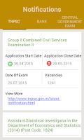 Screenshot of TNPSC