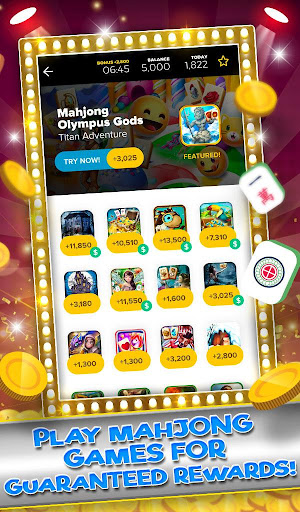 Mahjong Game Rewards - Earn Money Playing Games
