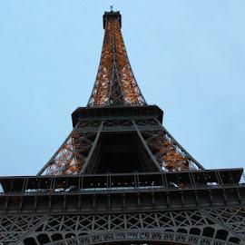 Eiffel Tower  by Raymond Rehage - Buildings & Architecture Statues & Monuments ( travel paris eiffeltower )