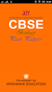 12th cbse biology past papers - screenshot