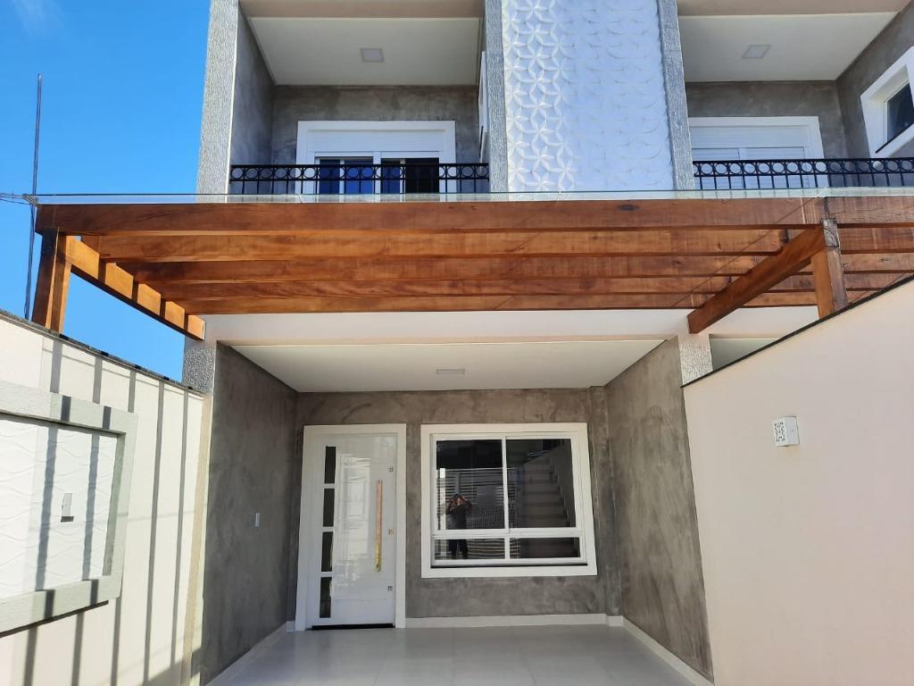 Sobrado com 2 dormitórios à venda, 94 m² por R$ 350.000 - Morretes - Itapema/SC