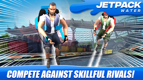Jetpack  Water Speed Race