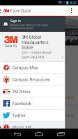 Screenshot of 3M Events