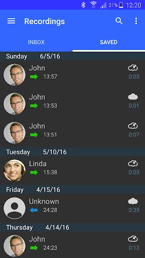 Automatic Call Recorder Pro - screenshot