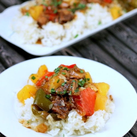 Slow Cooker Sweet and Sour Island Beef