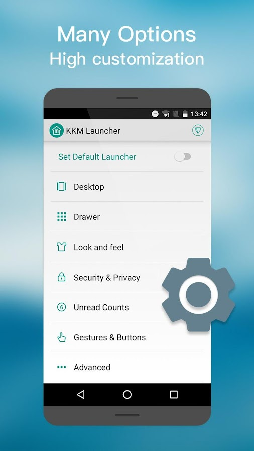 MN Launcher -Marshmalow,Nougat Screenshot 5