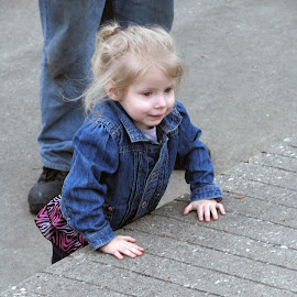 I think I can... I think I can... by Charla Mealer - Babies & Children Children Candids