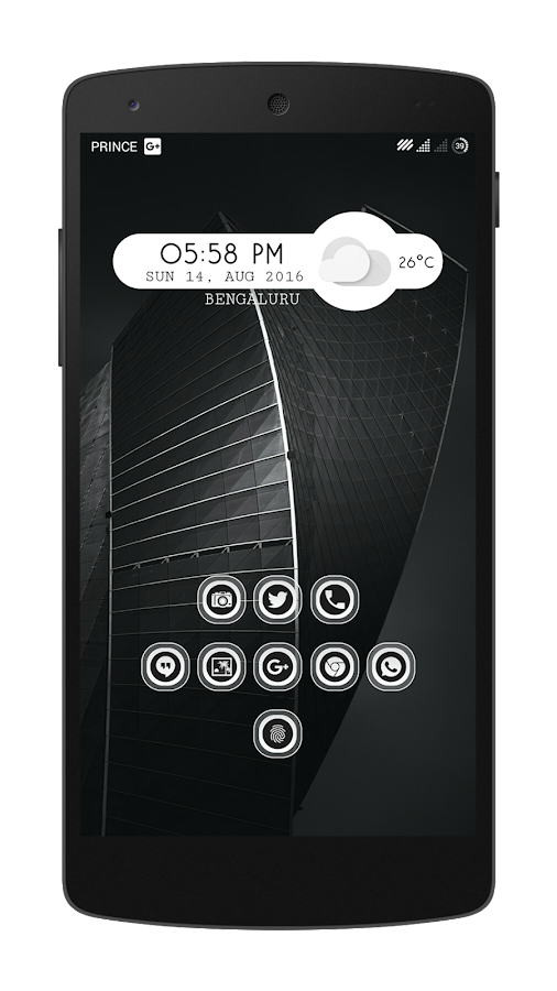 Transpiro Black Icon Pack Screenshot 4