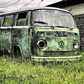 The Old VW by Gusti Mhn - Transportation Automobiles