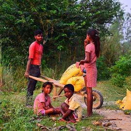 Hard Work by Vineet Singh - Babies & Children Children Candids (  )