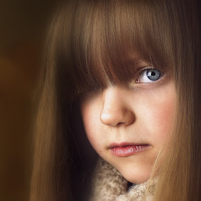 by Lucia STA - Babies & Children Child Portraits ( girl, moody, blue eyes, close up, portrait )