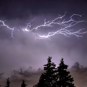 Flash Photography by Philip O'Brien - Landscapes Weather ( flash, strike, lightening, pwcfoulweather, electric, tempest, storm, fireworks, fire, new year, dipawali, diwali, 2014,  )