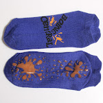 Custom Rubber Yoga Anti Slip Socks