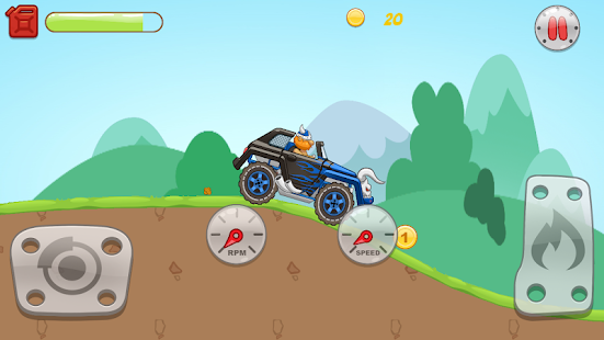 Hill Racing - screenshot
