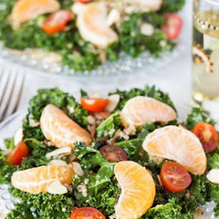Massaged Kale Salad with Honey-Chipotle Vinaigrette