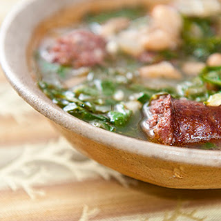 Azorean Linguica Stew