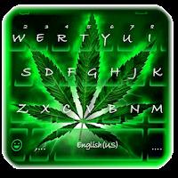 Neon Rasta Weed Keyboard Theme pour PC (Windows / Mac)