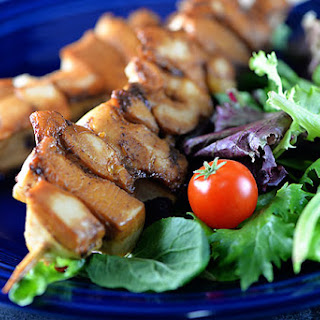 Balsamic Chicken Skewers