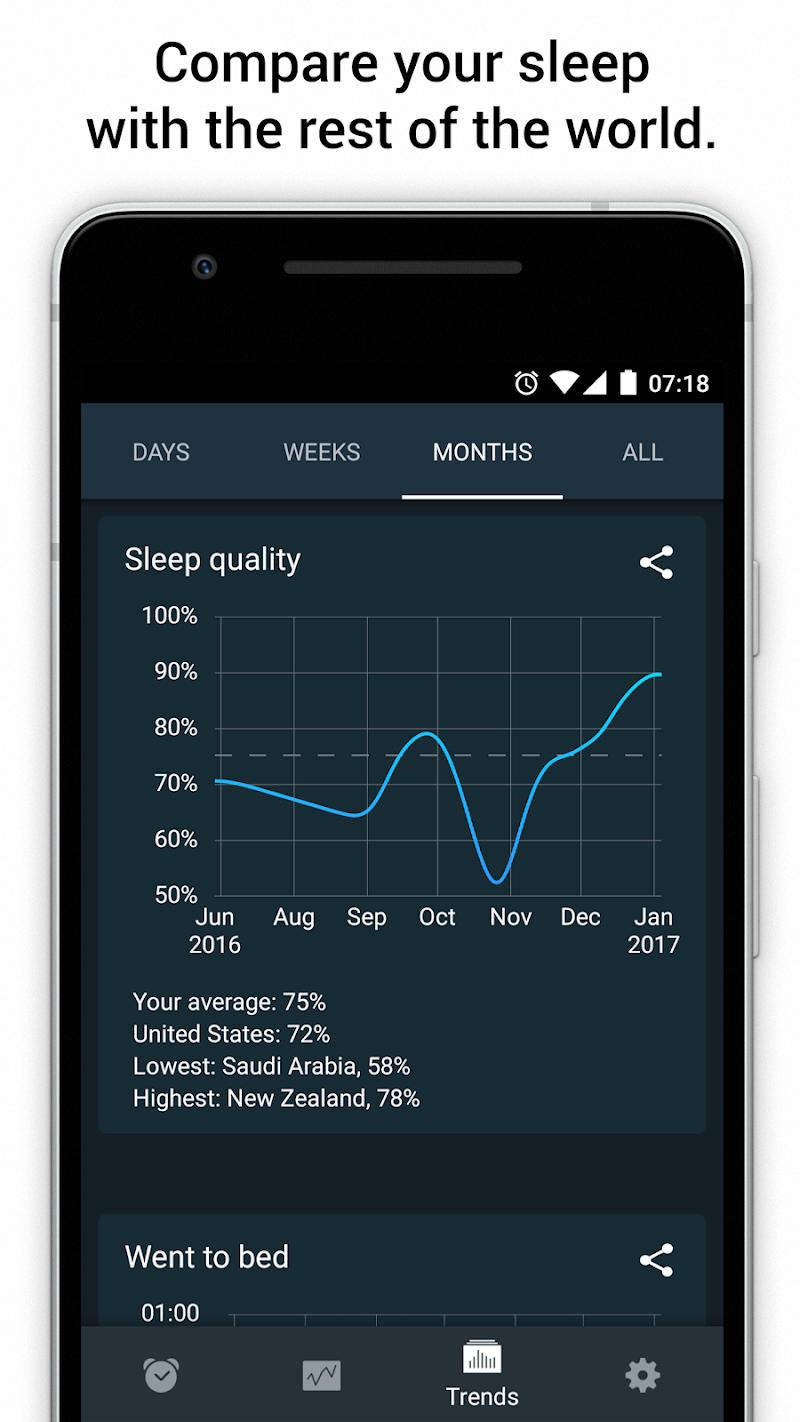 Sleep Cycle alarm clock Screenshot 3