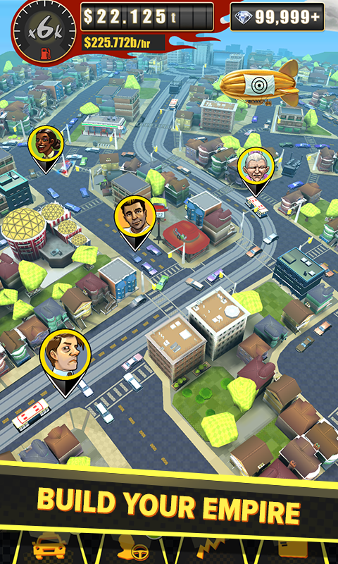 Crazy Taxi Gazillionaire Screenshot 0