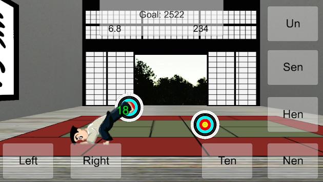 taido warrior: challenge apk screenshot