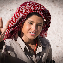Bedouin child. by Darijan Mihajlovic - Babies & Children Children Candids