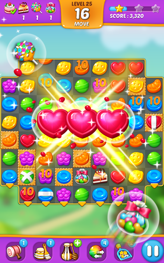 Lollipop: Sweet Taste Match 3 Screenshot 0