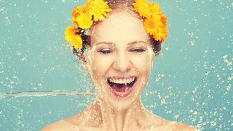 happy-woman-wet-face