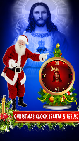 android Dancing Clock for Christmas Screenshot 0