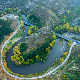 In the air... by Dimitar Lazarov - Landscapes Travel ( amazing, flight, over, drone, nature, aeria, air )