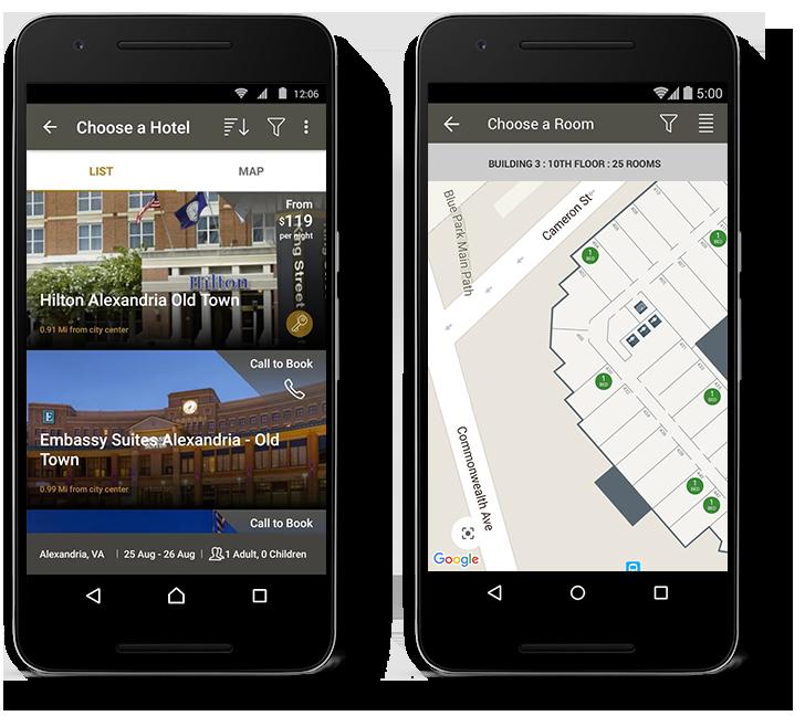 Infoxchange Google Maps Phone
