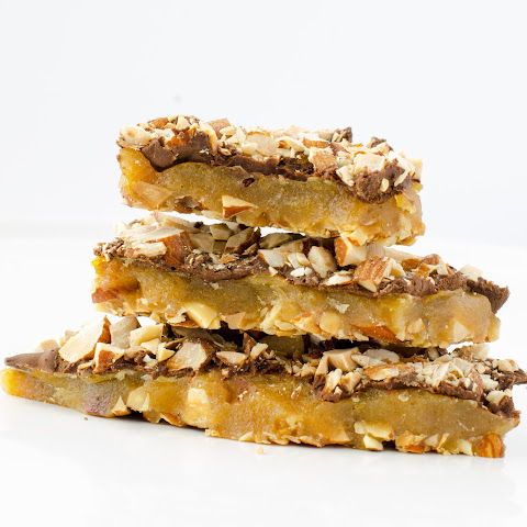 Almond Chocolate Toffee Bark